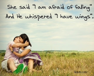 She Said I am Afraid Of Falling