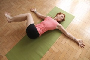 Hong-Kong-Yoga-laying-twist-pose-