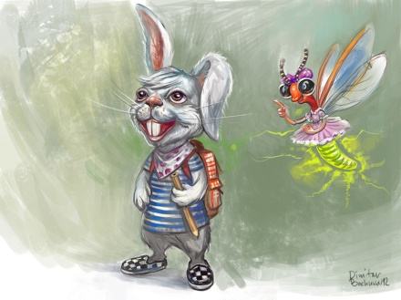 Evn_firefly_and_rabbit_sketch